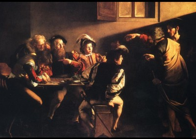 The Calling of Saint Matthew by Caravaggio