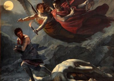 Justice and Vengeance Pursuing Crime
